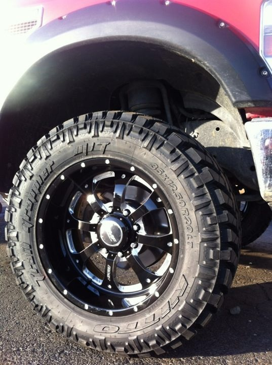 All Terrain Tires For Sale >> BMF wheels wrapped with Nitto tires! | Custom trucks ...