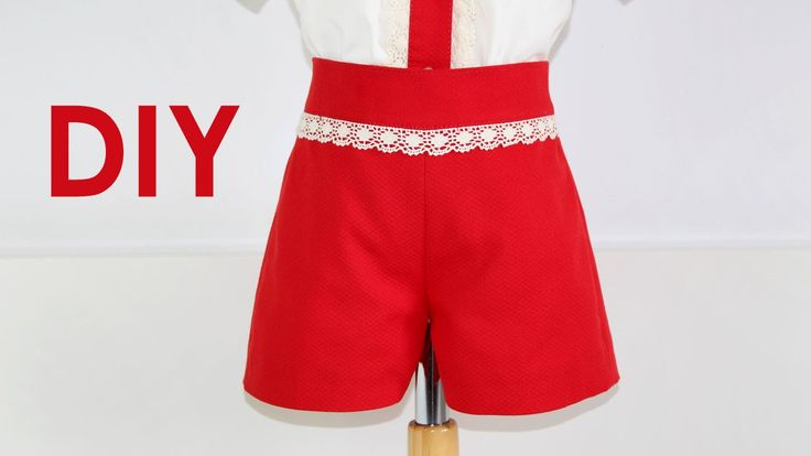 Pantalón de niño básico. DIY