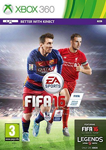 Was £40.00 > Now £27.48.  Save 31% off FIFA 16 (Xbox 360) #5StarDeal, #Games, #LowestEver, #Under50, #VideoGames