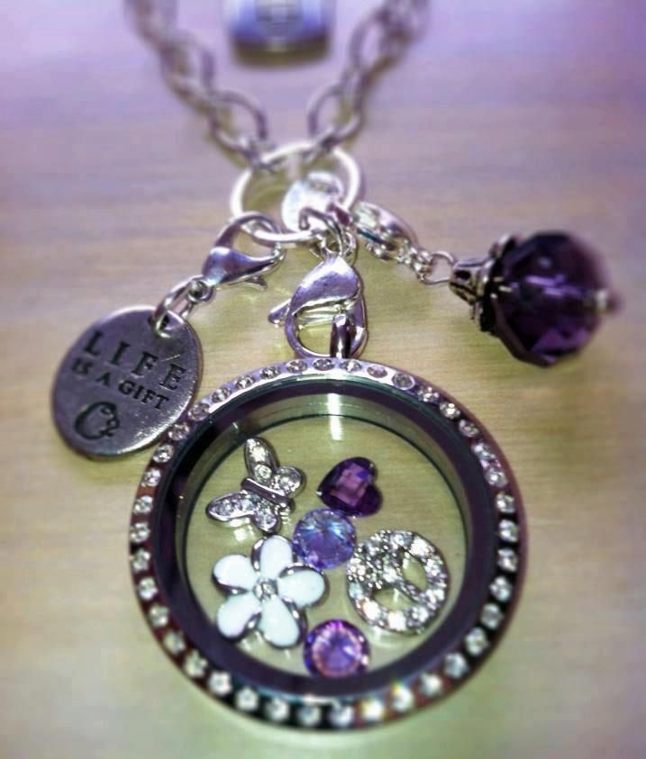 Origami Owl Living Lockets ~ Purple  https://www.facebook.com/OrigamiOwlKelliPattonIndependentDesigner34450