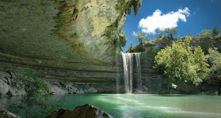 Hamilton Pool near Austin, TX - Jaw-Dropping Nature Photos via StumbleUpon