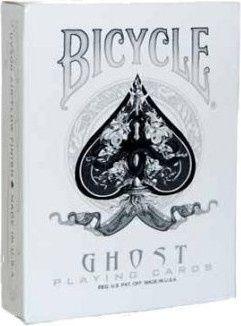 Bicycle, karty do gry Ghost Playing Cards -   U.S. Playing Card Company , tylko w empik.com: 52,99 zł. Przeczytaj recenzję Bicycle, karty do gry Ghost Playing Cards. Zamów dostawę do dowolnego salonu i zapłać przy odbiorze!