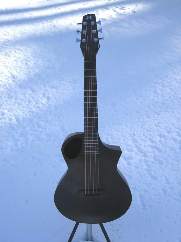 Carbon Fiber With An Offset Soundhole Guitars Carbon