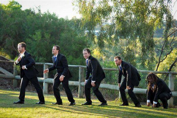 vicces esküvői fotók
