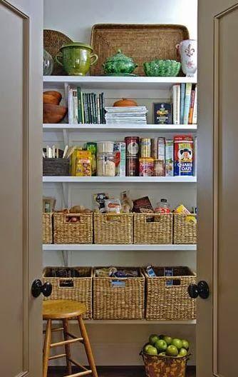 Organizando a dispensa pantry