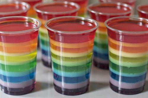 Cómo hacer gelatina de sabores