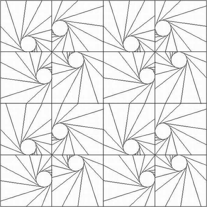 difficult geometric design coloring pages - Coloring Pages Designs Shapes