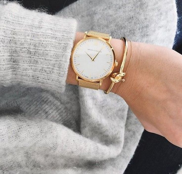 Gold // Larsson & Jennings watch <3
