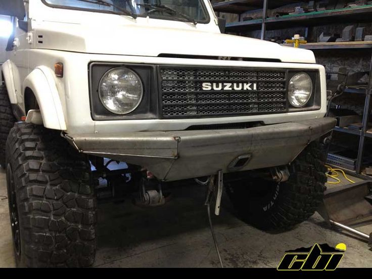 Off Road Winch Front Bumper Suzuki Samurai Google Search