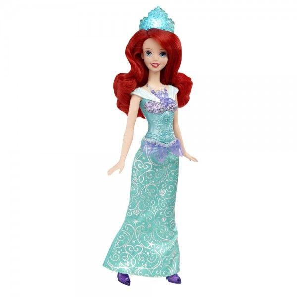 Prinţesele Disney Strălucitoare Păpuşa Ariel Cu Lumini