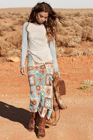 Wait List // Carnaby Crochet Skirt