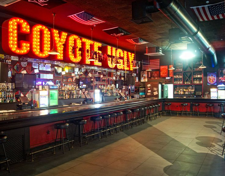Done..Coyote Ugly bar, Nashville