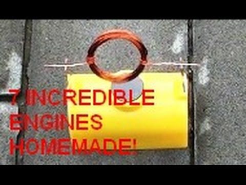 Cool Science Experiments you can do with Engines. 7 Simple Life Hacks wi...