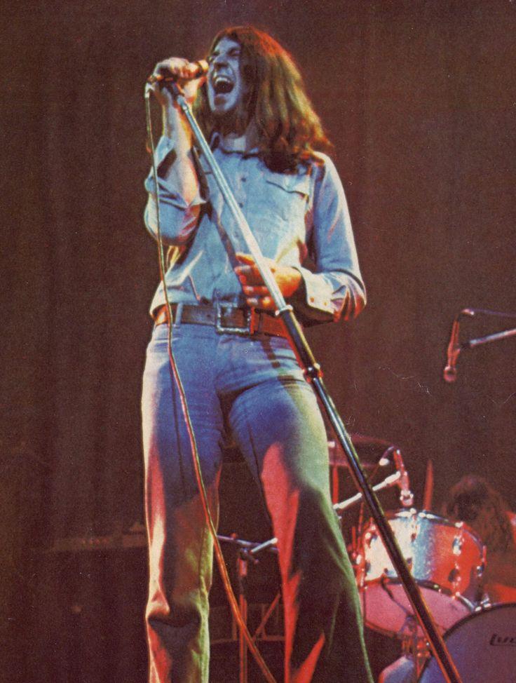 Ian Gillan with Deep Purple Mark 2 in 1972.