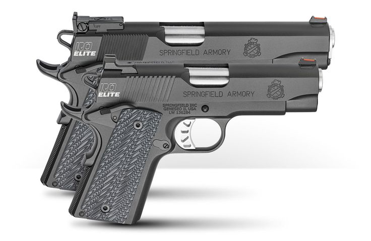 """""""Performance beyond its price"""" now goes even further. The RO® Elite: 1911 Range Officer® quality in four new forms. Every new RO Elite series pistol is clad in the same Black-T® treatment specified on Springfield Armory 1911s built for the FBI's regional SWAT and Hostage Rescue Teams. RO Elite models also include: Springfield Armory's crisp, …"""