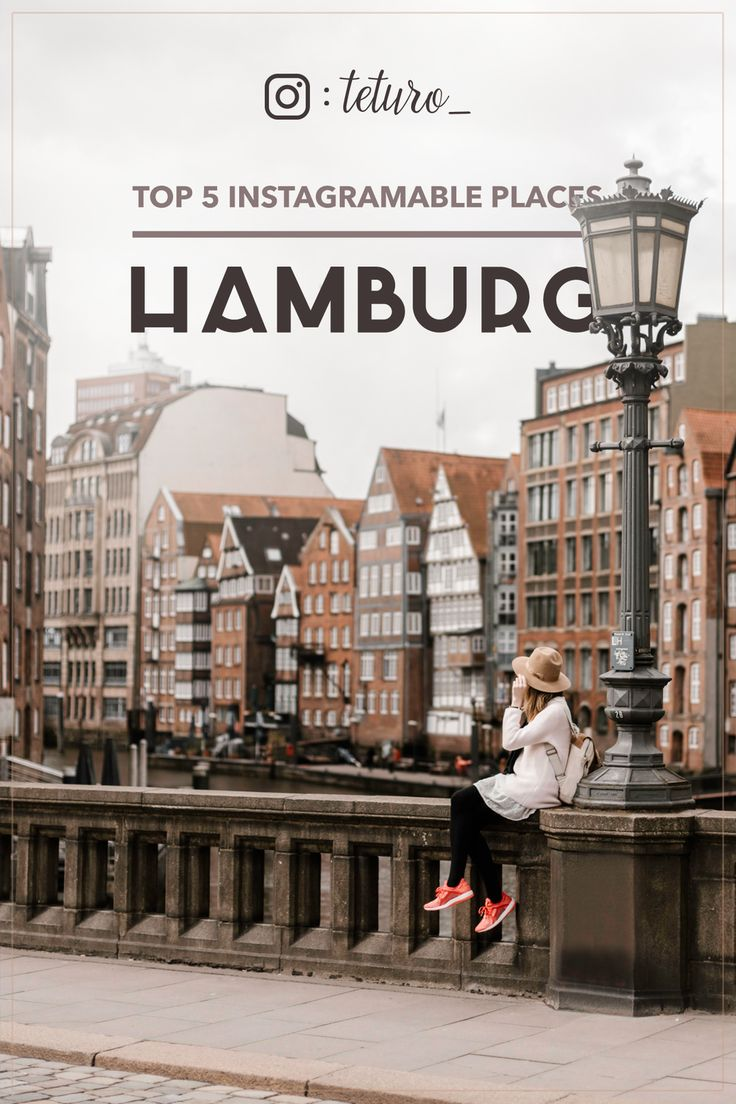 Travel guide for Hamburg - where to find the most photogenic places?