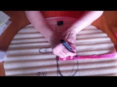 Мастер класс по валянию рукавиц (новички) - YouTube