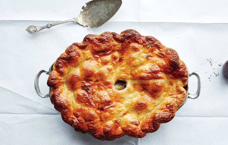 From an outrageously tender beef bourguignonne pot pie to a root vegetable tarte tatin, these 18 savory dinner pies take the cake.