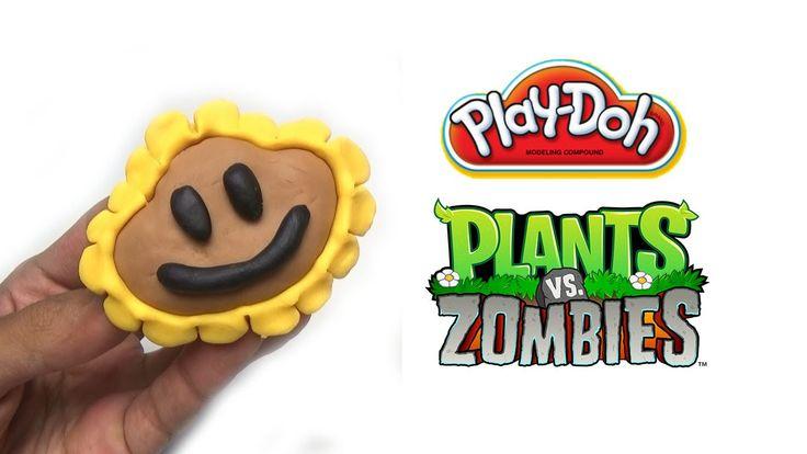 Play-Doh Plants vs Zombies Garden Warfare Sunflower from Plants Vs. Zomb...