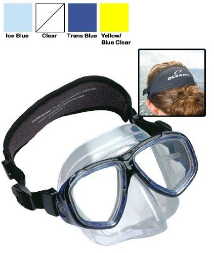 Oceanic Ion 2 Purge Dive Mask-Blue by Oceanic. Oceanic Ion 2 Purge Dive Mask-Blue.