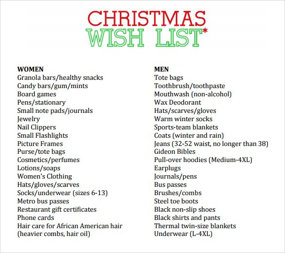 Christmas Checklist Template Christmas Checklist