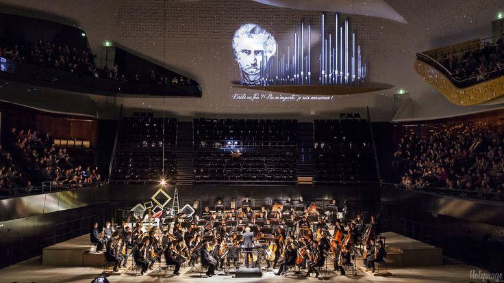 A l'occasion du premier concert éducatif et jeune Public de l'orchestre de Paris à la Philarmonie, Holymage a conçu et réalisé…