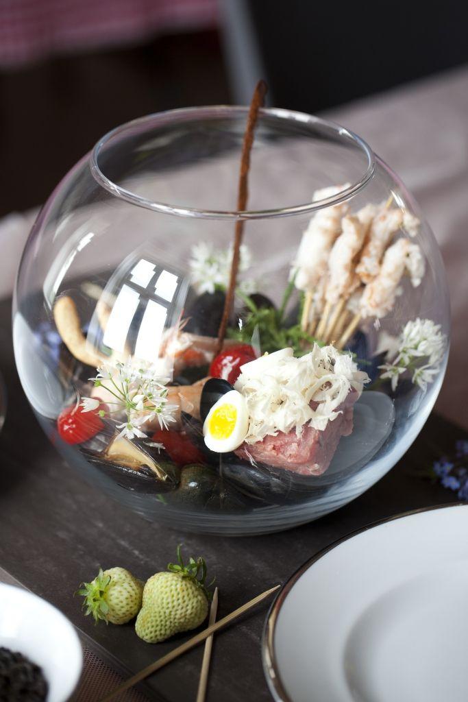 """Aquarium"" Kokkenhavn's signature dish"