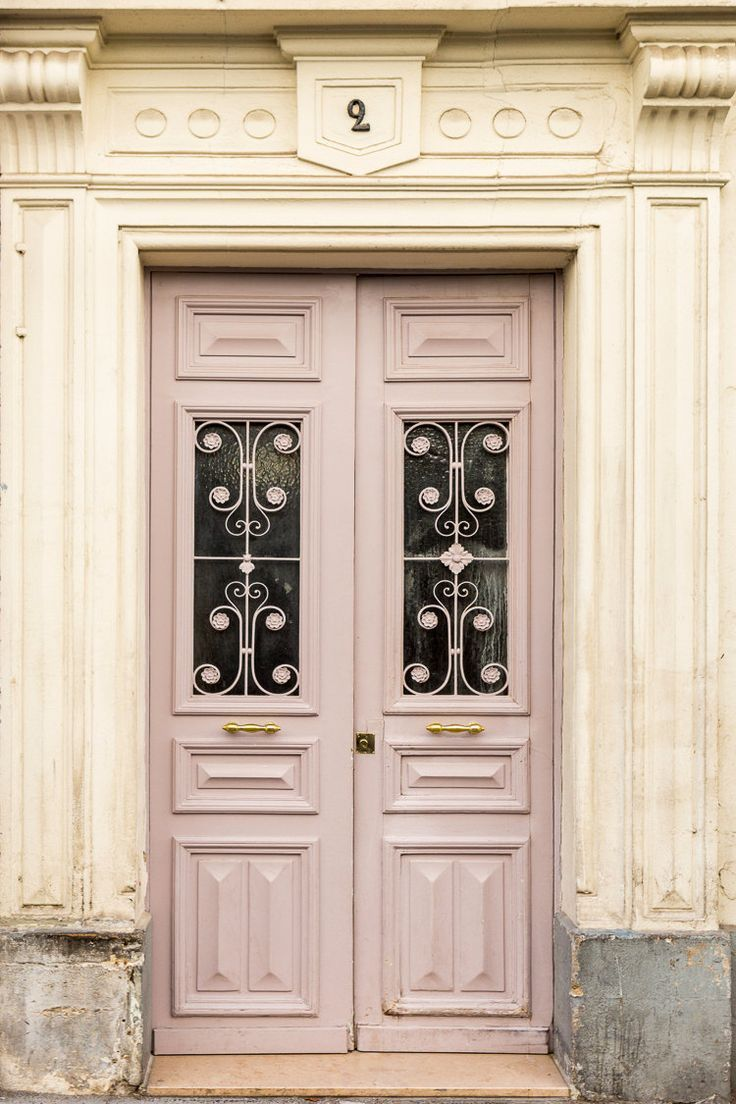 Decor door and window  classic french home decor with wooden glass door  villa decoration