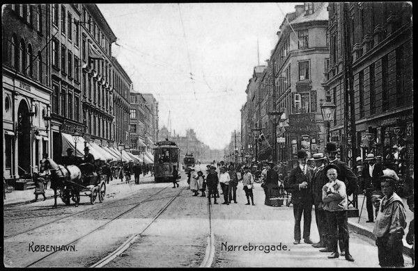 Nørrebrogade ved Blågårdsgade