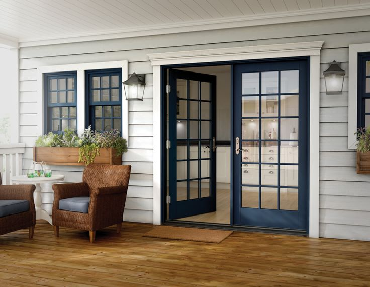 95 best to adore french doors images on pinterest french for Indoor outdoor french doors