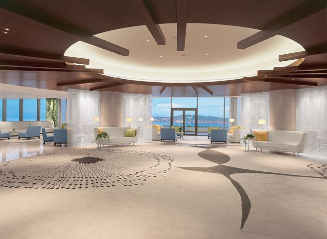 The Westin Athens, Nafsika, interior designed by HBA/Hirsch Bedner Associates