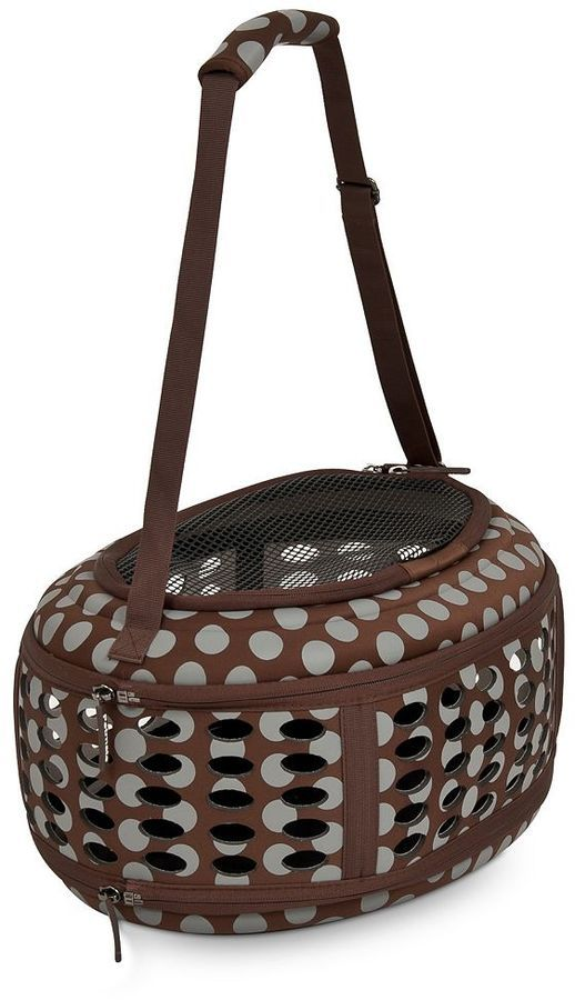 Petmate curvations dots 17-in. underseat pet traveler tote
