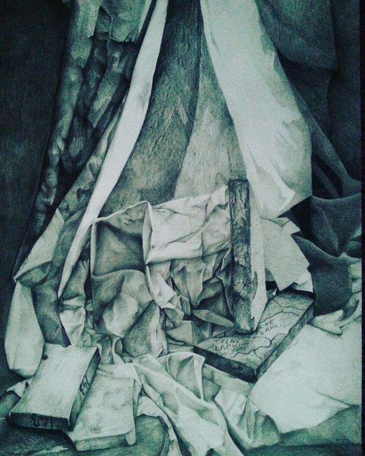 My best still life drawing in pencil :) by Magdalena Leszczyniak