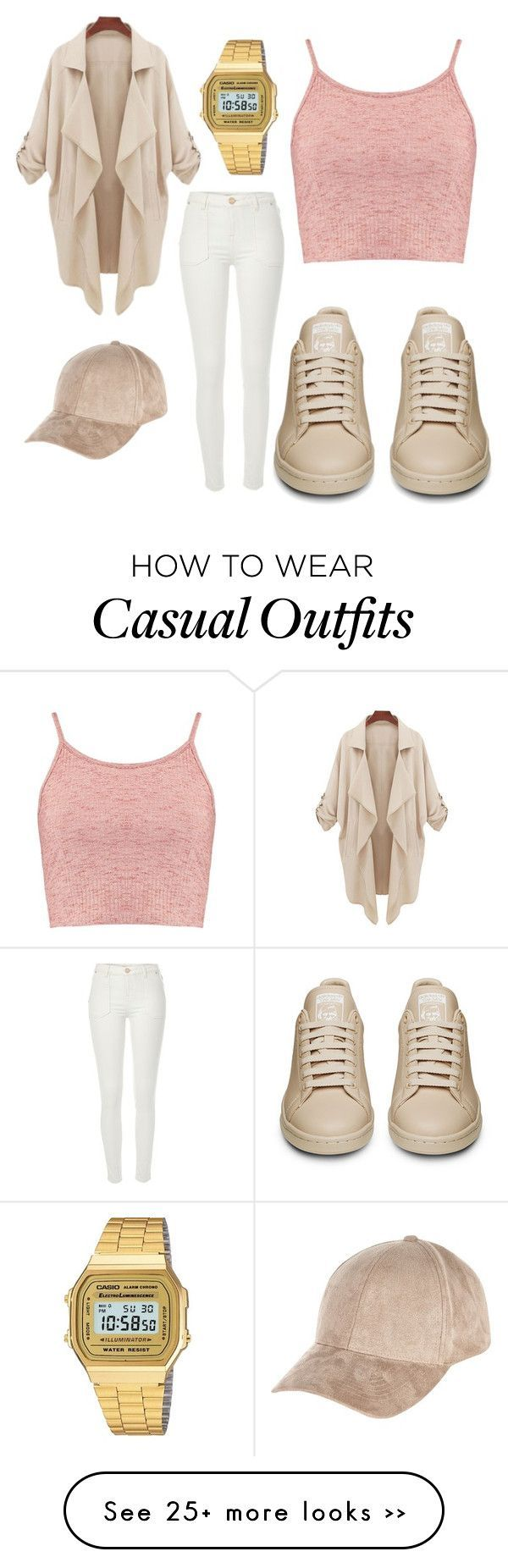 """Casual Glam."" by veronica-latina on Polyvore featuring Boohoo, River Island and Casio"