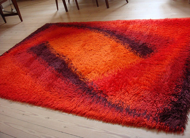70s Mid Century Danish Modern RYA RUG By DesignerDeals, Via Flickr