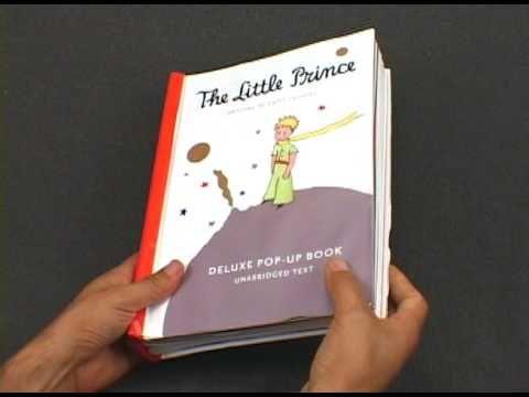 Little Prince Deluxe Pop-Up Book by Antoine de Saint-Exupery