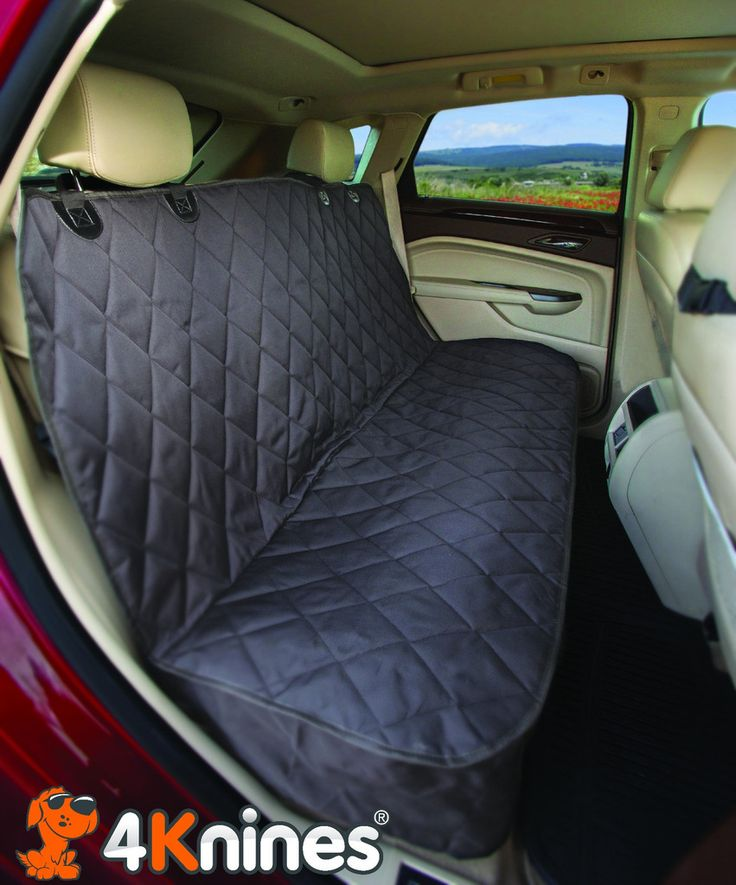 PROTECT YOUR BACK SEAT - Our heavy duty, durable covers mean no more damage to your vehicle from claws, dirt, dander, water, sand, or mud. Avoid seat tears, upholstery punctures, and leather scrapes f