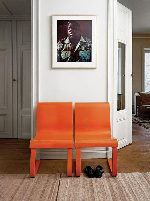 Biggie AND orange chairs? I'm in!