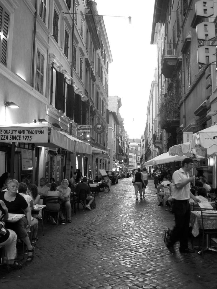 Rome Cobblestone Roads