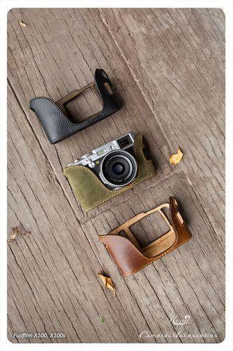 Kenji Leather Half Case for Fujifilm fuji X100 X100s | eBay