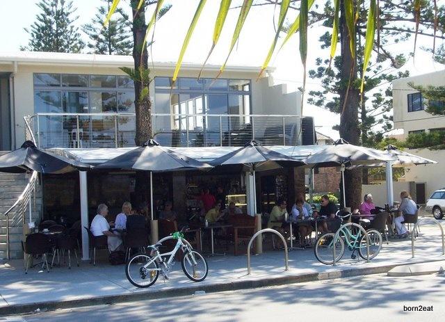 Coffee by the beach at Piccolo Espresso, Miami Beach, Gold Coast