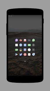 Delta - Icon Pack: miniatura da captura de tela