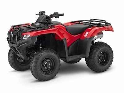 New 2017 Honda FOURTRAX RANCHER 4X4 DCT IRS ATVs For Sale in South Carolina. Any mechanic, woodworker, tradesman or craftsman knows that the right tool makes the job a whole lot easier. And having the right tool means having a choice. We've all seen someone try to drive a screw with a butter knife, or pound a nail with a shoe heel. The results are never pretty.Honda's FourTrax Rancher line are premium tools for the jobs you need to do, whether that's on the farm, the jobsite, hunting…