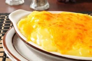 Gluten Free Au Gratin Potatoes with Cheddar Cheese