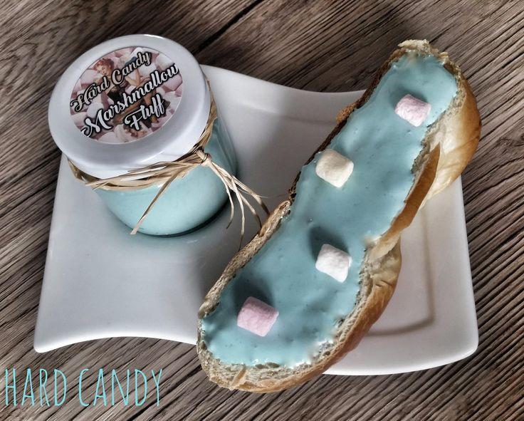 Tropical Marshmallow Fluff by Hard Candy Shop. Leckerer Aufstrich für Milchbrötchen oder Palatschinken. Erhältlich im Hard Candy Shop in Thalheim bei Wels