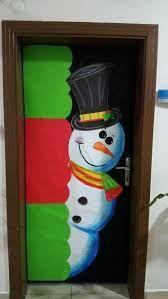Resultado de imagen para decoracion puertas navideñas