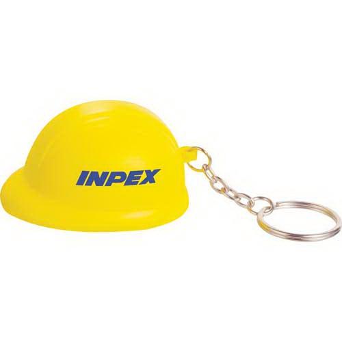 Construction Hat Keychain