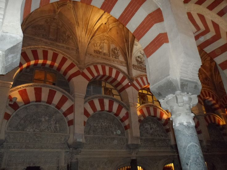 Mezquita–catedral de Córdoba, Cordoba, Andalucia, Spain. IMPROVE YOUR SPANISH FLUENCY IN 1-4 WEEKS !! Eurolingua One-to-One Language Holiday Homestay programme. A great great success for over 20 years!! http://www.eurolingua.com/programmes-mainmenu-100/language-programmes/language-homestays-worldwide-mainmenu-472