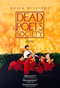 Dead Poets Society. 1989. great great movie-- oh captain! my captain!