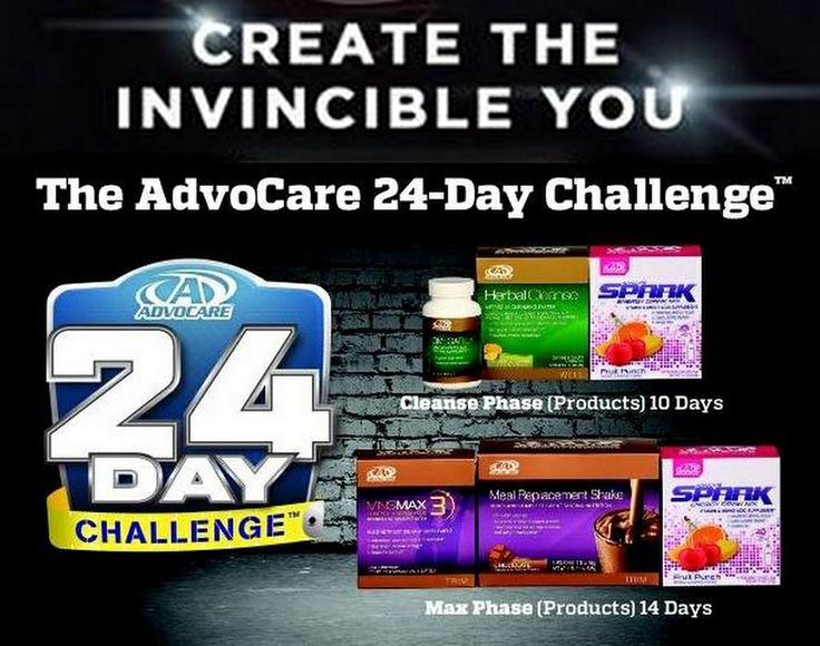 Advocare 24 day challenge. Billy York, Independent Distributor http://www.nutritionismylife.com